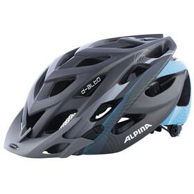 Alpina D-Alto L.E. Helmet titanium-cyan matt
